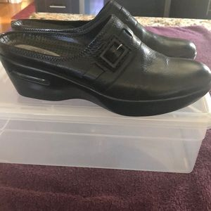 Cole Haan Leather Wedge